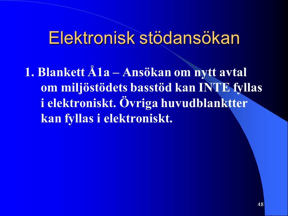 Elektronisk stödansökan 1.
