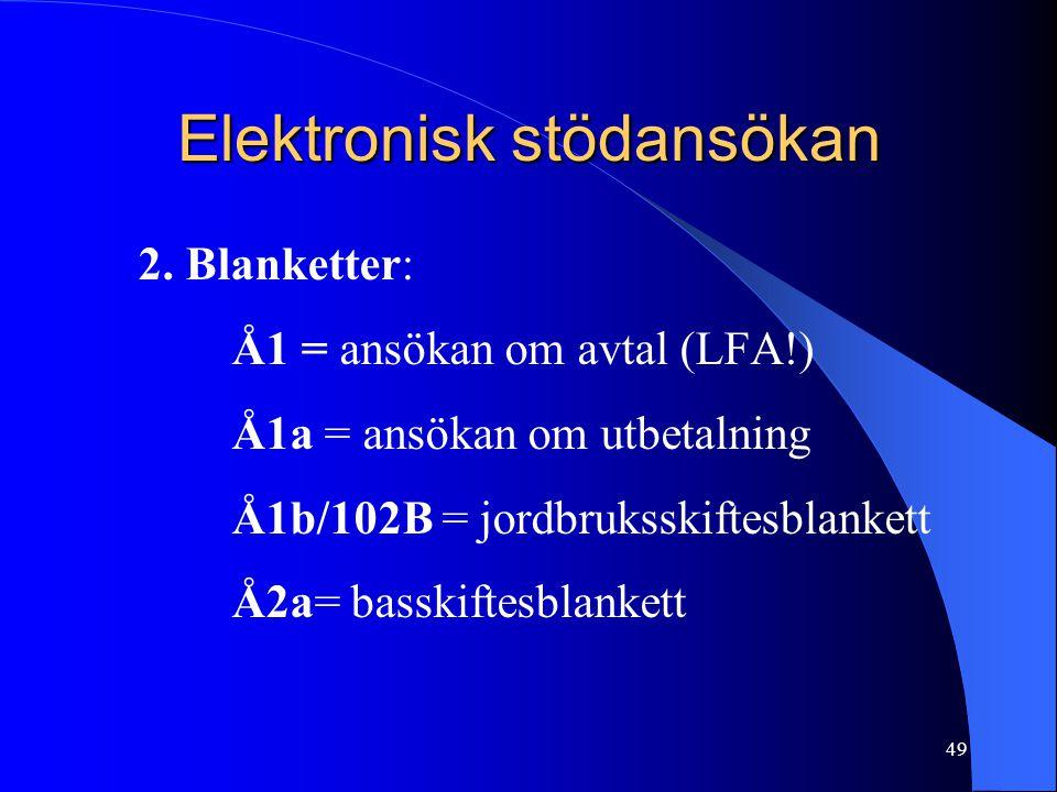 Elektronisk stödansökan 2.