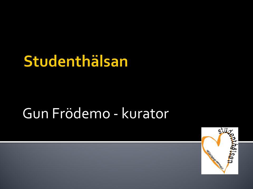 Gun Frödemo - kurator