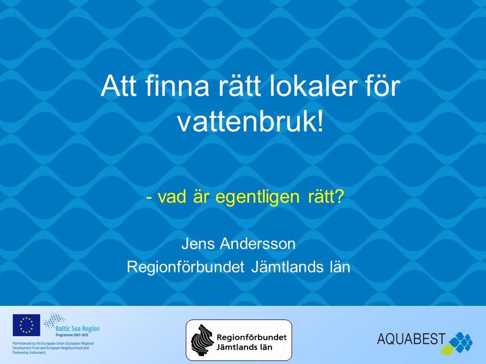 Jens Andersson Regionförbundet Jämtlands län - vad är egentligen rätt.