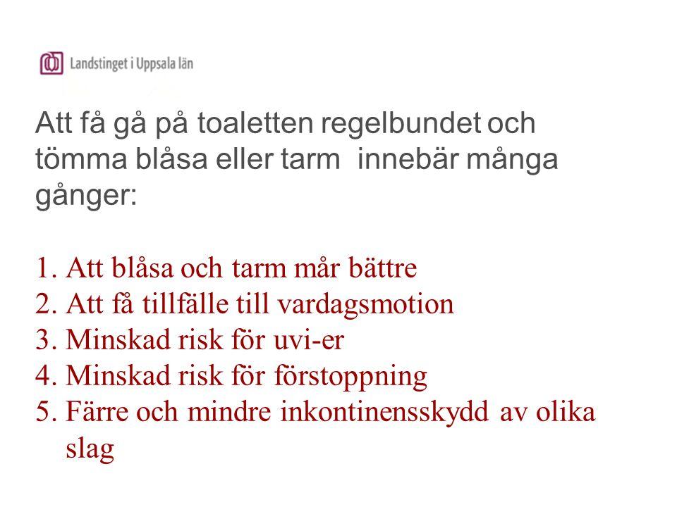www.nikola.nu Tips på Filmer: 1.Kvalitetsindikatorer för blåsfunktionsstörning på individnivå 2.