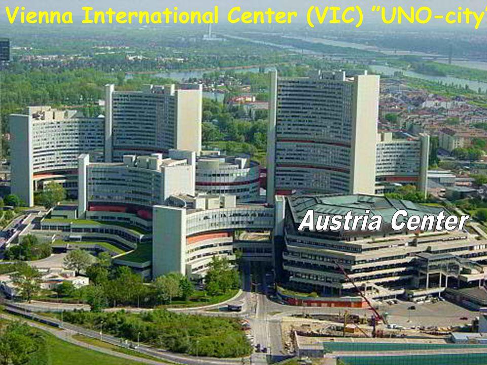 "Vienna International Center (VIC) ""UNO-city"""