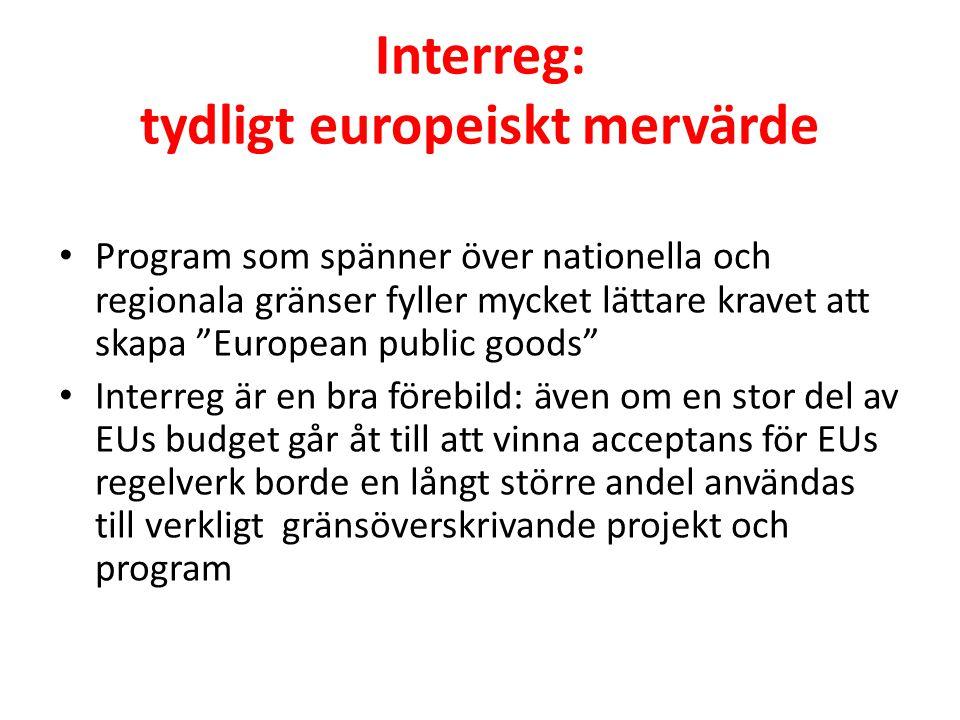 """Interreg: tydligt europeiskt mervärde • Program som spänner över nationella och regionala gränser fyller mycket lättare kravet att skapa """"European pub"""