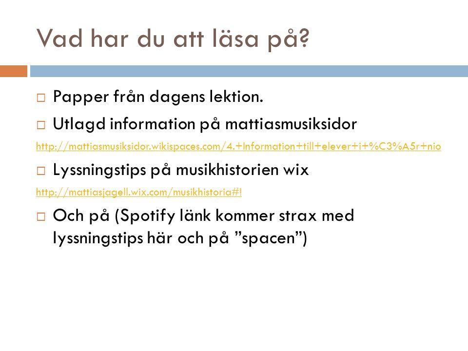 Lycka till! Har ni övriga frågor får ni gärna maila mig på mattias.jagell@uppsalaskolor.net