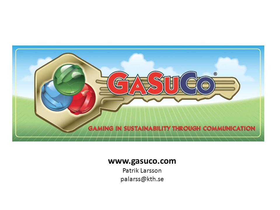 www.gasuco.com Patrik Larsson palarss@kth.se