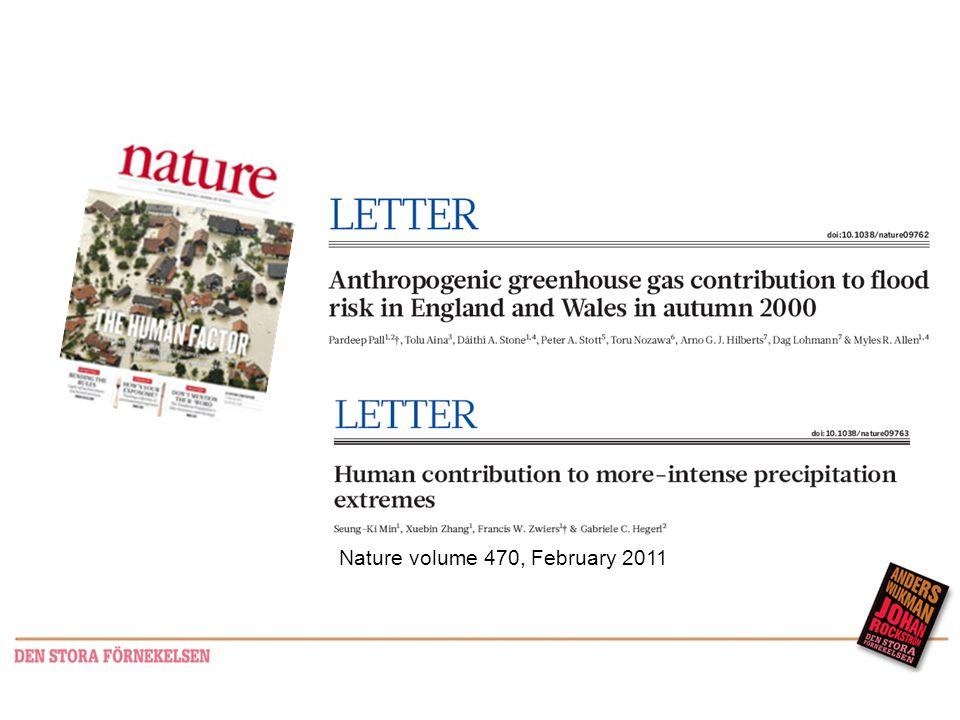 Nature volume 470, February 2011