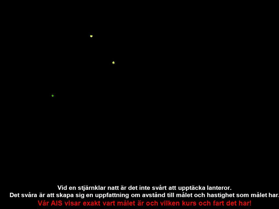 Vid en stjärnklar natt är det inte svårt att upptäcka lanteror.