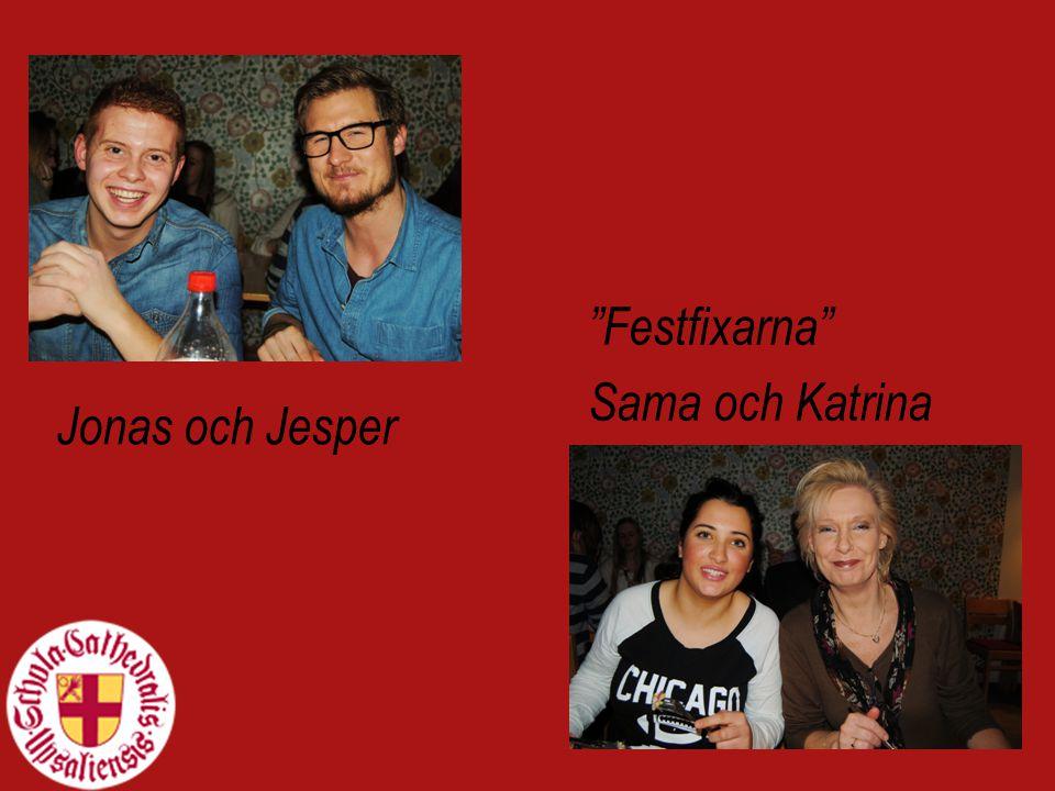 Jonas och Jesper Festfixarna Sama och Katrina
