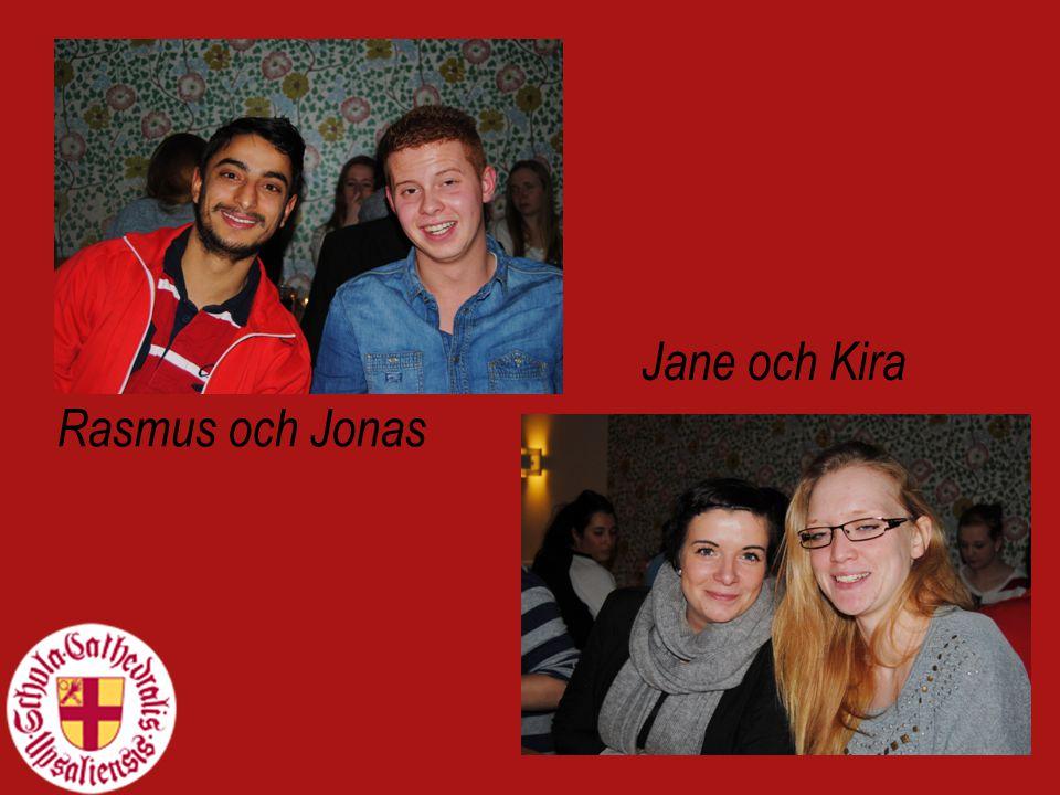 Rasmus och Jonas Jane och Kira