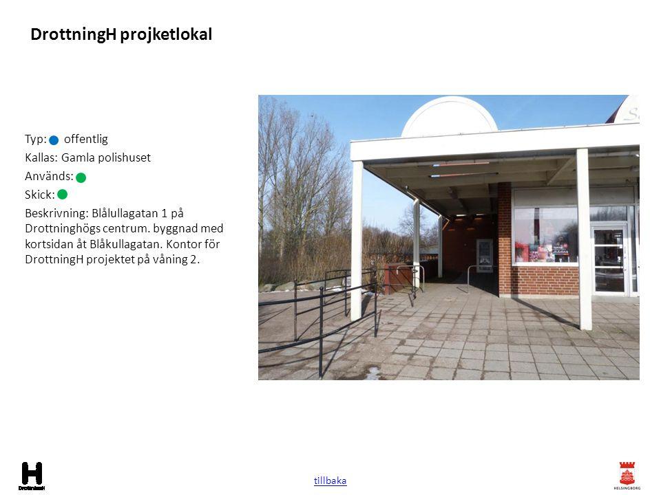 Bänkar och bord övrigt Typ: Kallas: Används: Skick: Beskrivning: På 80-talet byggdes en del sittplatser med bord och tak på ytorna mellan husen.