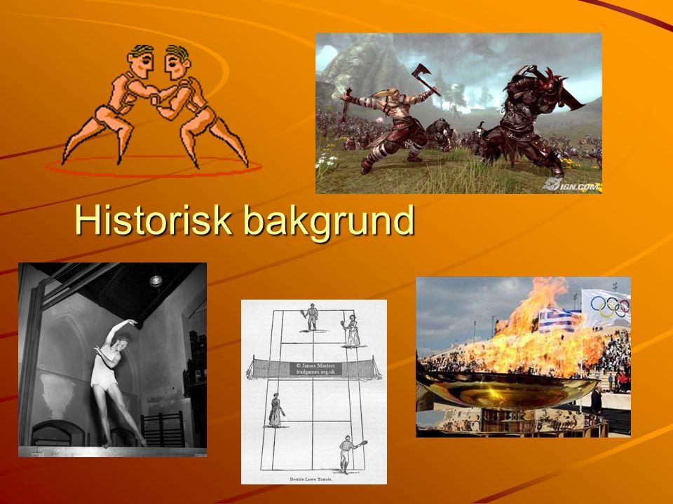 Historisk bakgrund