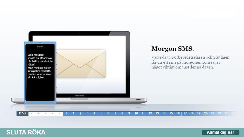 Morgon SMS.