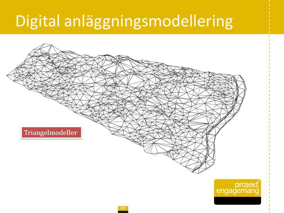 Digital anläggningsmodellering 24 Solidmodeller