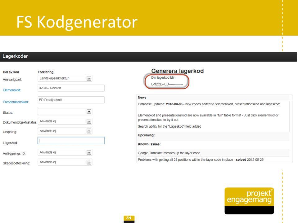 • Utvecklingsprojekt hos Svensk Byggtjänst Fokus I: koppla objekt till recept