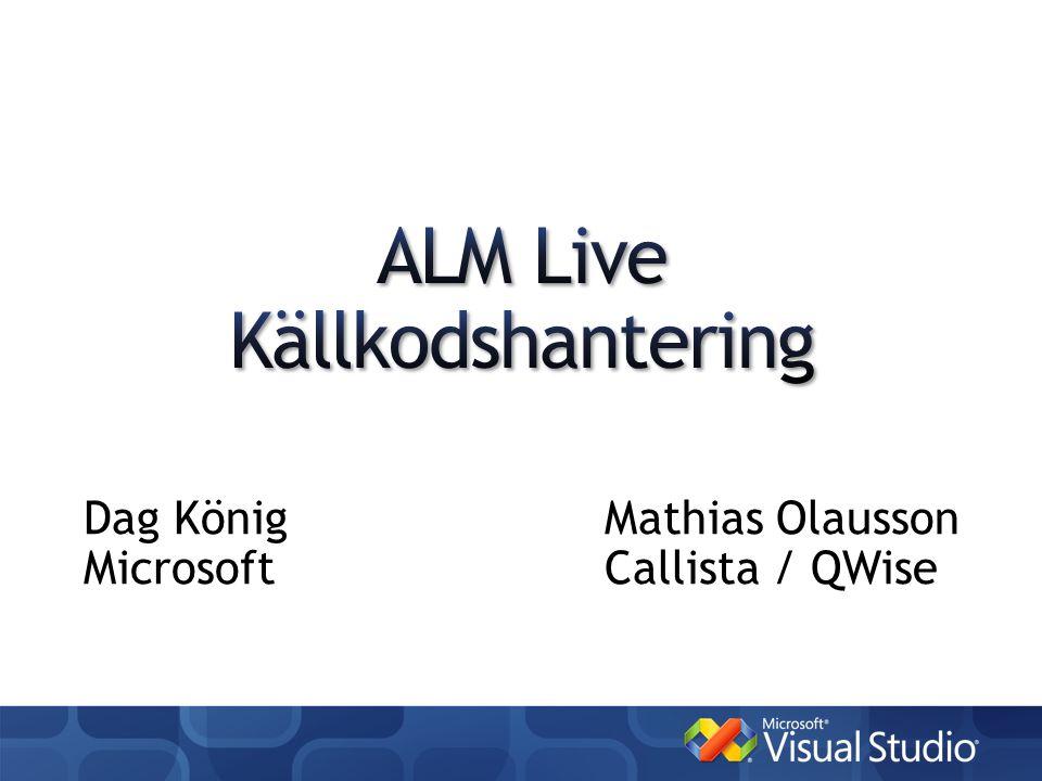 Dag KönigMathias Olausson MicrosoftCallista / QWise