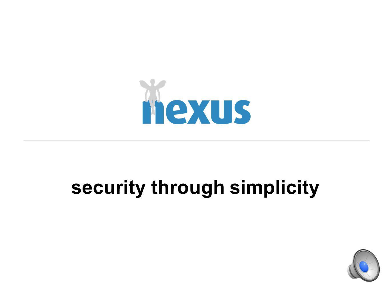security through simplicity