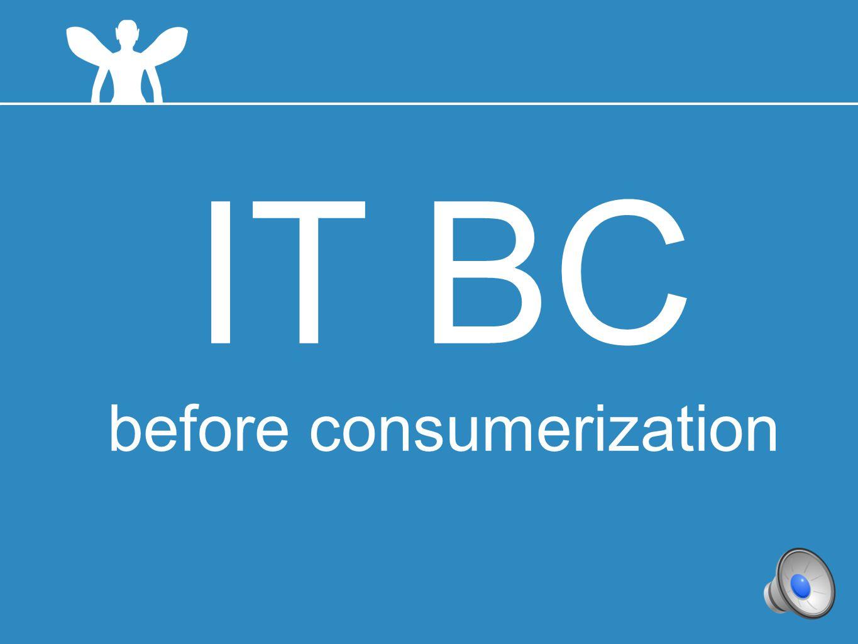 6 IT BC before consumerization
