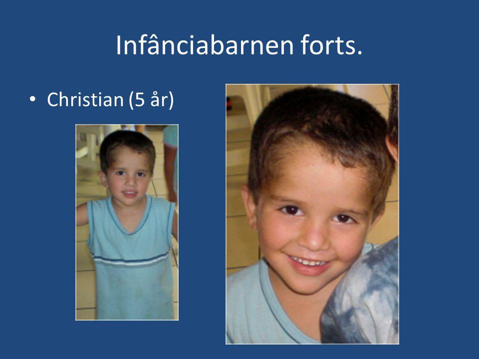 Infânciabarnen forts. • Christian (5 år)