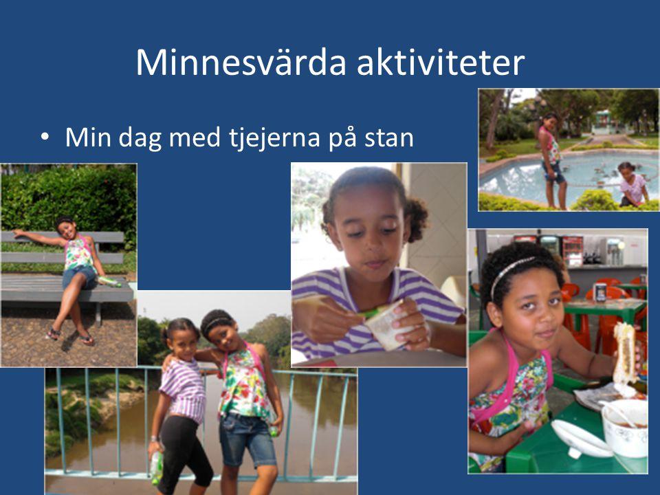 Minnesvärda aktiviteter • Min dag med tjejerna på stan