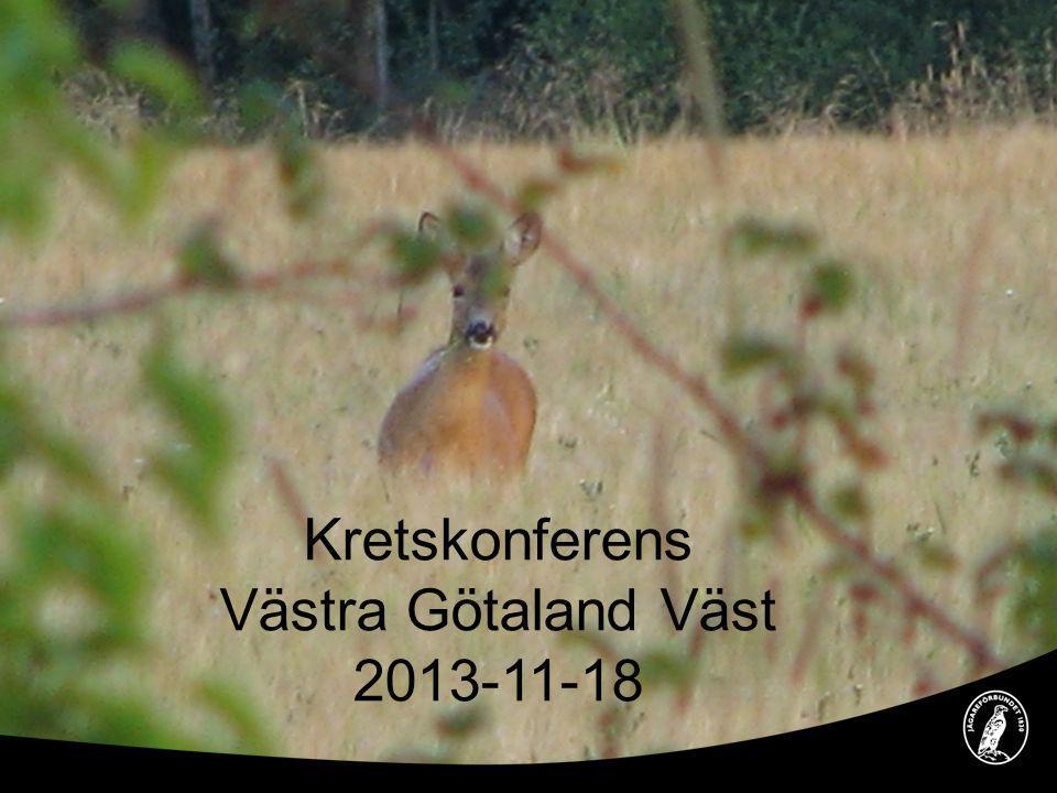 Kretskonferens Västra Götaland Väst 2013-11-18