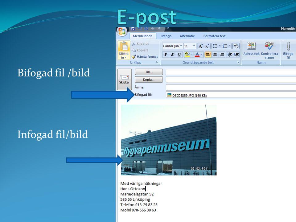 Bifogad fil /bild Infogad fil/bild