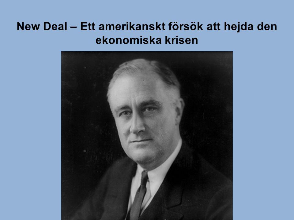 Försök till demokrati i Tyskland under Weimarrepubliken Stora ekonomiska svårigheter sätter käppar i hjulen för demokratin NSDAP växer fram i Tyskland under 20-talet