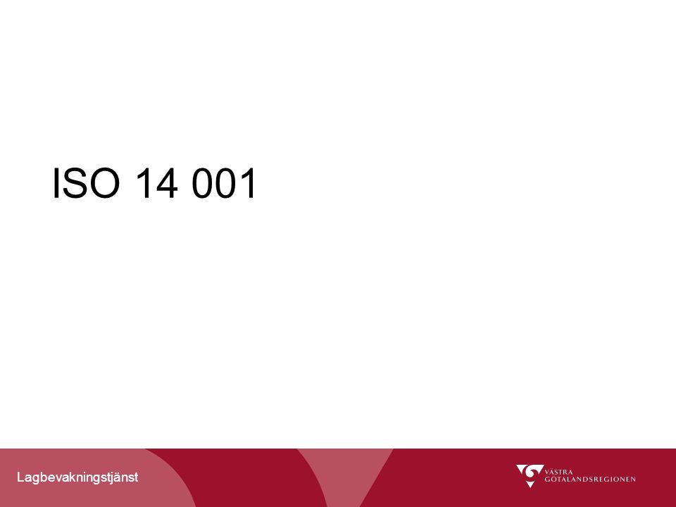 Lagbevakningstjänst ISO 14 001