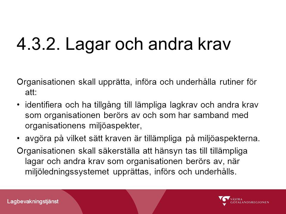 Lagbevakningstjänst 4.3.2.