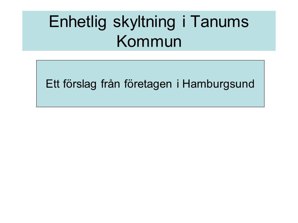 Ett förslag från företagen i Hamburgsund