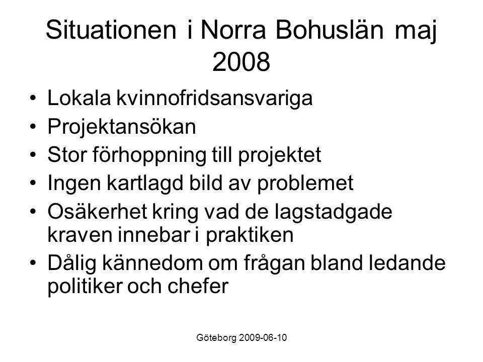 Göteborg 2009-06-10 Samordnarens funderingar •Hur identifiera samverkanspunkter på bästa sätt när det råder osäkerhet på vad man skall göra.