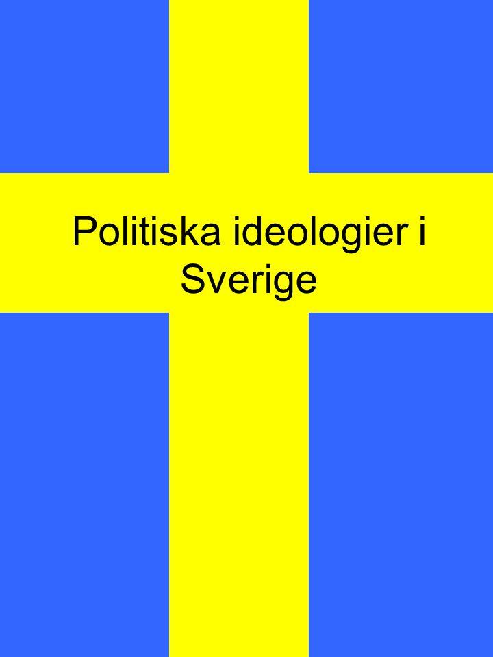 Vad är politiska ideologier.