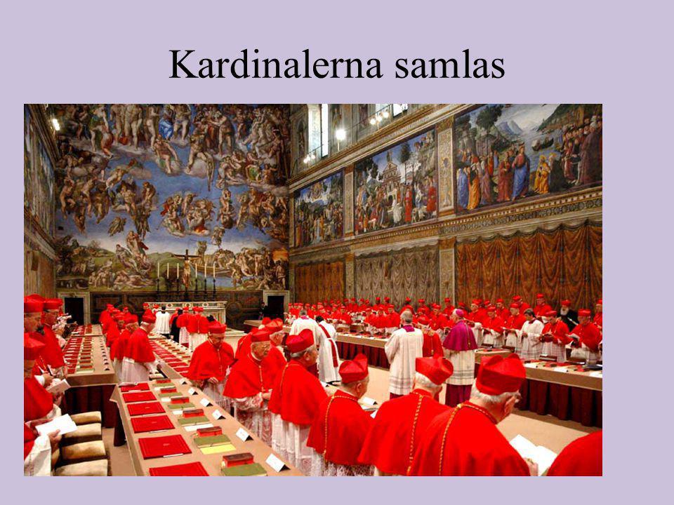 Kardinalerna samlas