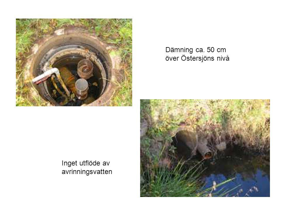 Inom 6 m radie tät ledning Dämningsbrunn på stamledning Stamledning Stickledning Dämningsbrunn B