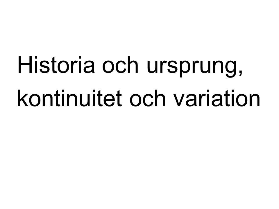 Finlandssvenska •Svenska i Finland sedan 1200-talet.
