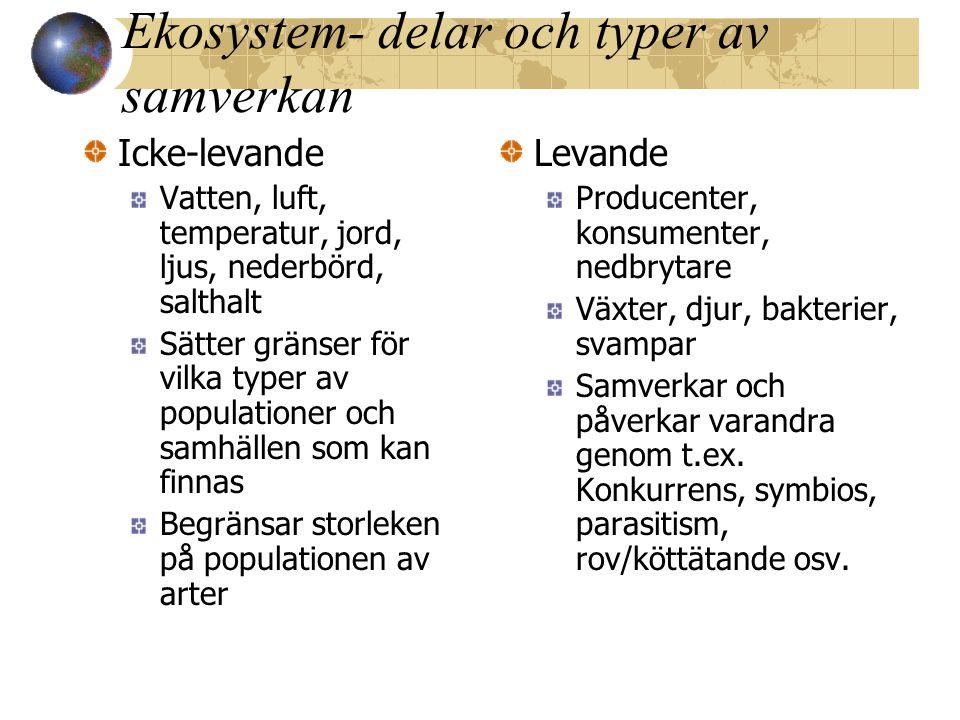 Näringskedjor blir Näringsväv Fig.4.18, p.