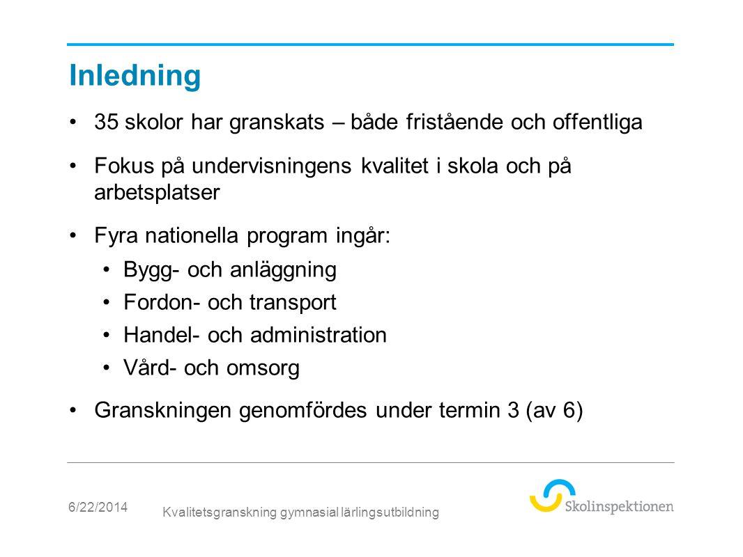 Utvecklingsområden 1 A.Planering av utbildningen •Anskaffning av lärlingsplatser - ett läraruppdrag •Individuell planering för eleven B.