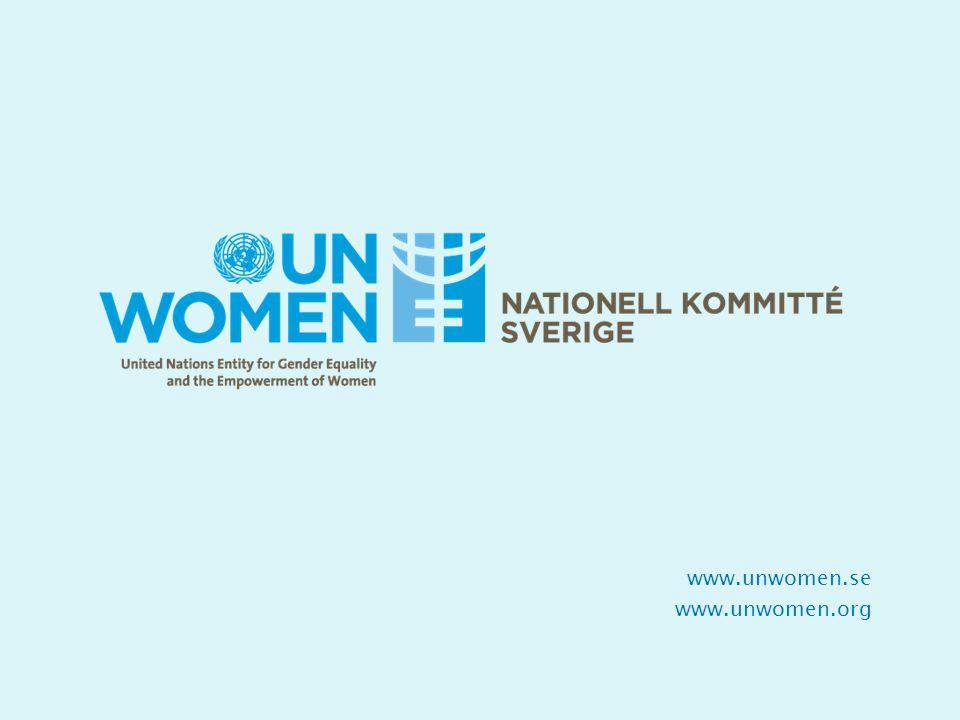 www.unwomen.se www.unwomen.org