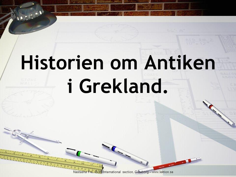 Utbildning i Aten Utbildning var mycket viktigt i Aten.