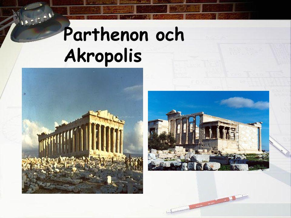 Parthenon och Akropolis