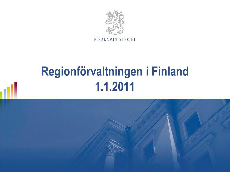 Regionförvaltningen i Finland 1.1.2011