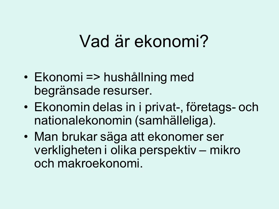 Sverige då.