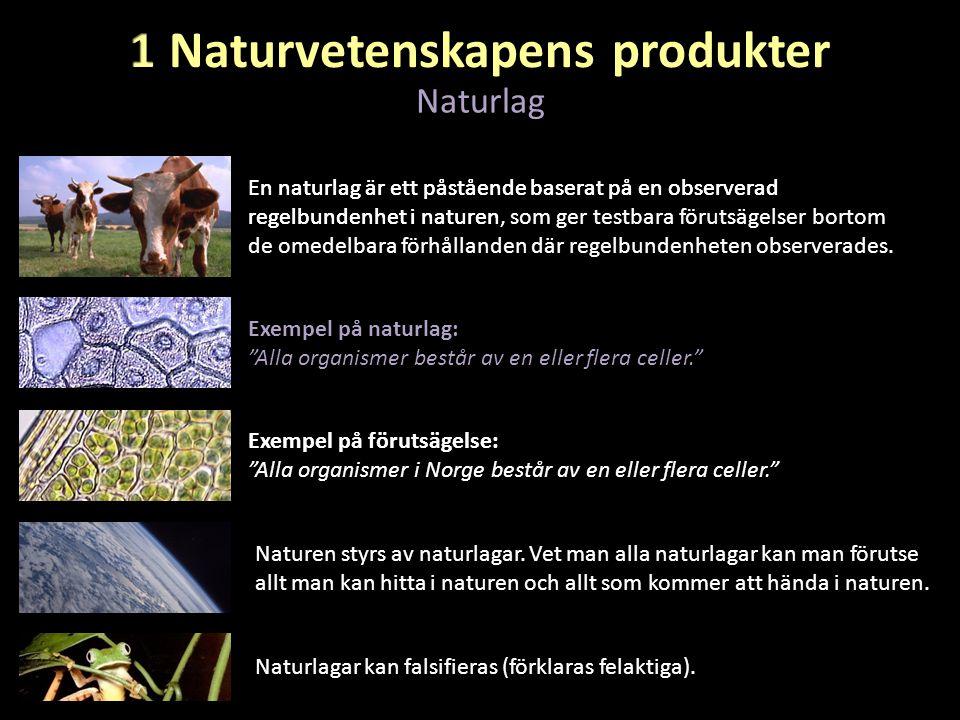 En naturlag är ett påstående baserat på en observerad regelbundenhet i naturen, som ger testbara förutsägelser bortom de omedelbara förhållanden där r