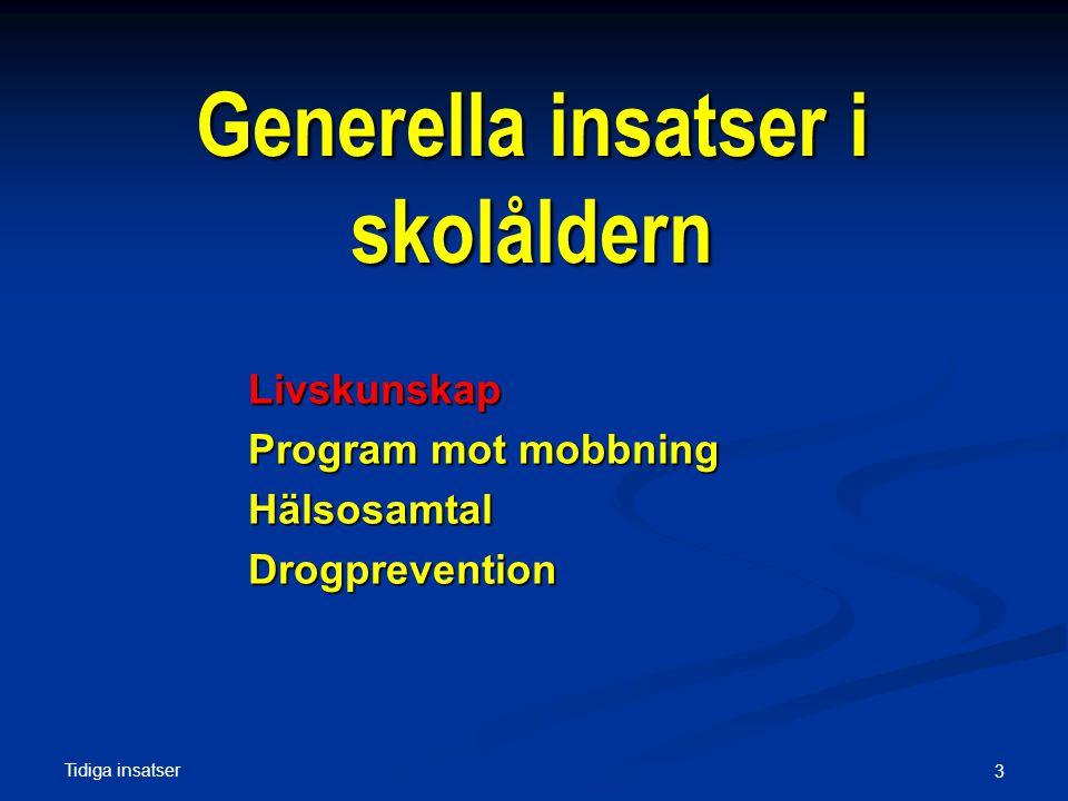 Tidiga insatser Livskunsap 4 SET - Botkyrka Livsviktigt , Birgitta Kimber