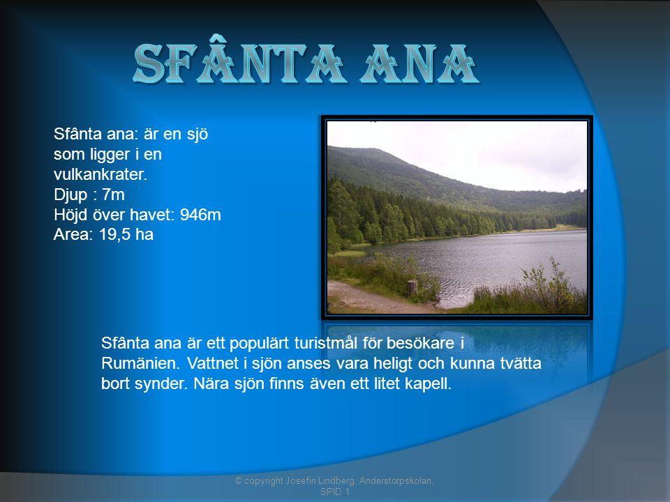 Sfânta ana: är en sjö som ligger i en vulkankrater.
