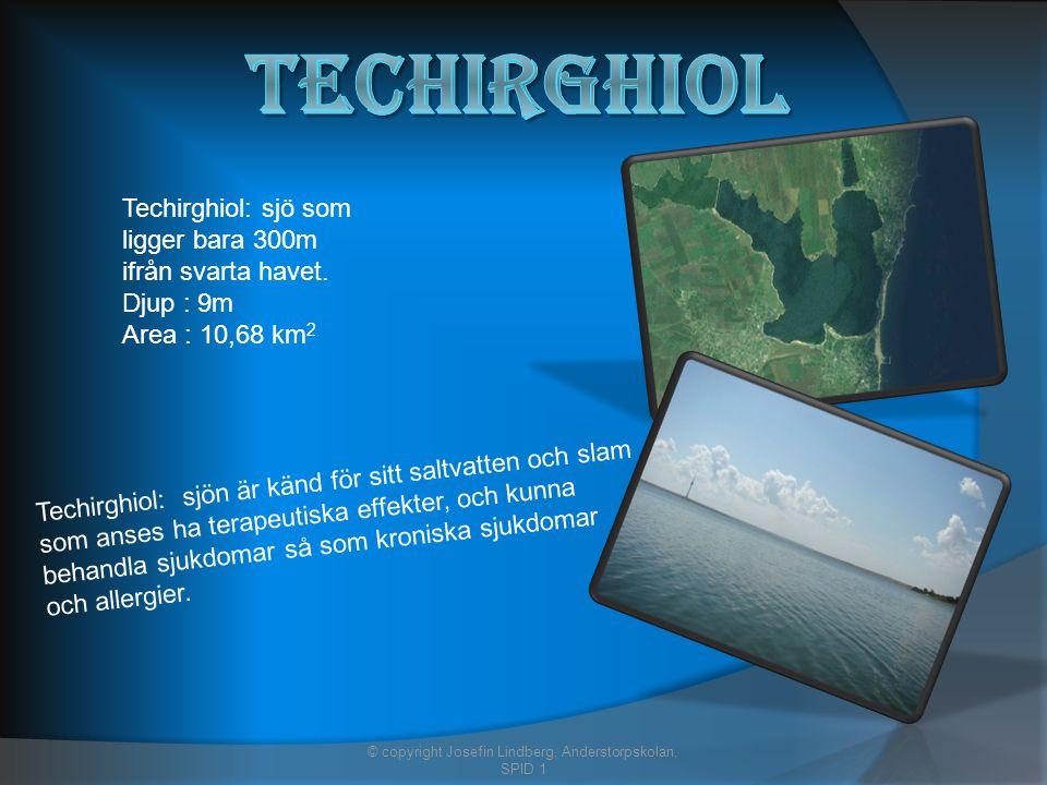 Techirghiol: sjö som ligger bara 300m ifrån svarta havet.