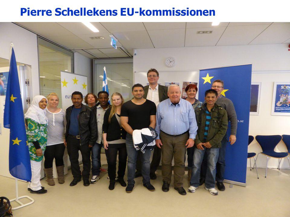 Pierre Schellekens EU-kommissionen