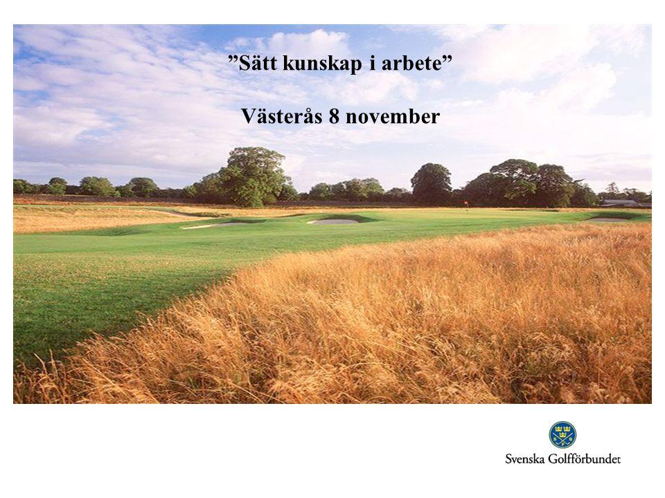 """""""Sätt kunskap i arbete"""" Västerås 8 november"""
