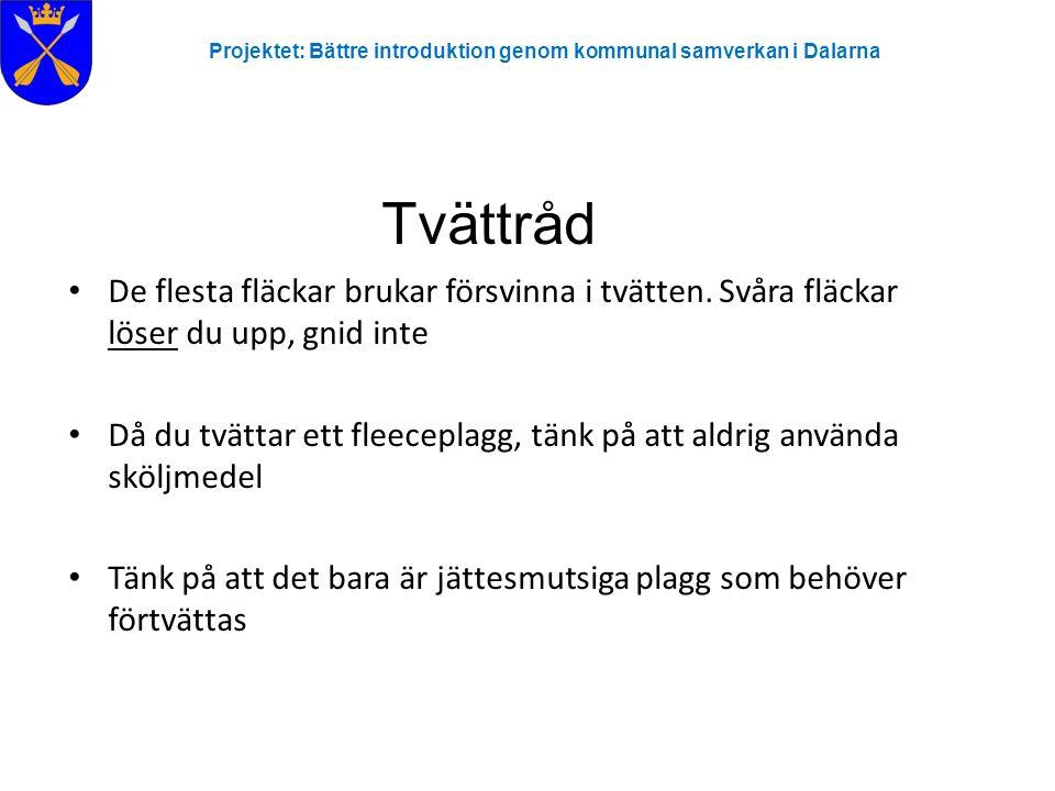 Projektet: Bättre introduktion genom kommunal samverkan i Dalarna Plusgiro Beloppet