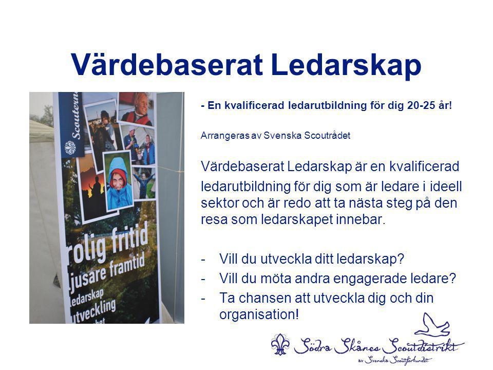 Värdebaserat Ledarskap - En kvalificerad ledarutbildning för dig 20-25 år.