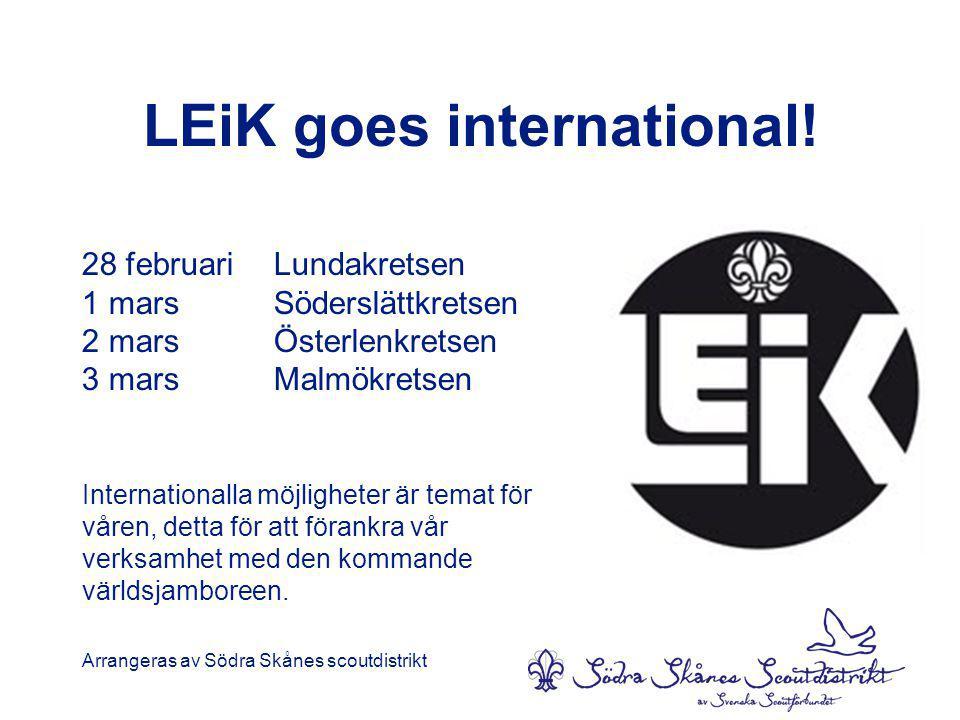 LEiK goes international.